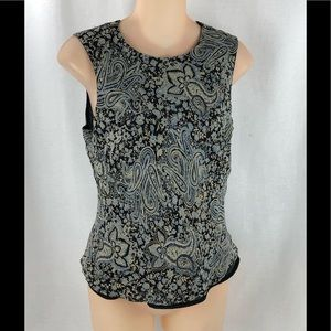 Ann Taylor 2 layer blouse